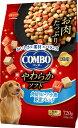 日本ペット コンボドッグ やわらかソフト 角切りビーフ・小魚 野菜ブレンド 720g