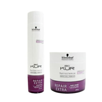 Schwarzkopf BC kuah repair extra shampoo & daily mask set (250ml/200 g)