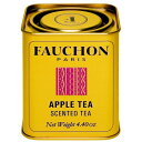 FAUCHON(フォション) アップル 125gリーフ 缶入り / 紅茶 フレーバー フランス パリ