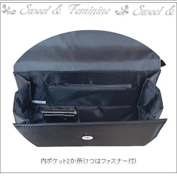 フォーマルバッグ☆レース☆ブラック・黒☆冠婚葬...の紹介画像3