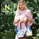 6ヶ月間保証付 ニコールリー専門店 nicole leeバッグ&財布トップクラス ニコルリー ポップアートプリントストライプトート