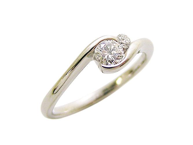 Pt.ダイヤモンドリング(D 0.20ct G-...の商品画像
