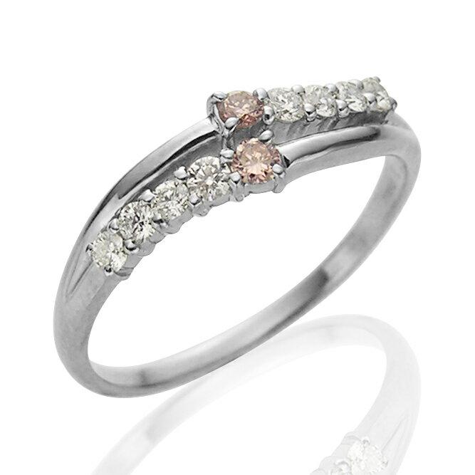 Pt900プラチナピンクダイヤモンドリング(PD...の商品画像