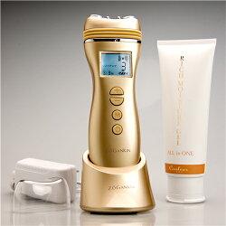 Zogankin(ゾーガンキン)はラジオ波の温熱効果とEMSによる表情筋のリフトアップ効果で造顔筋エクササイズができる美顔器!おきゃんママも愛用