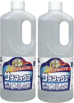 Antibacterial deodorant San Max 1 litre 2 pair (for refill)