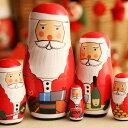 RoomClip商品情報 - クリスマス santacryoshka サンタクリョーシカ LOVE