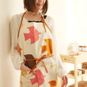 A design textile apron [easy ギフ _ packing] [comfortable ギフ _ expands an address]