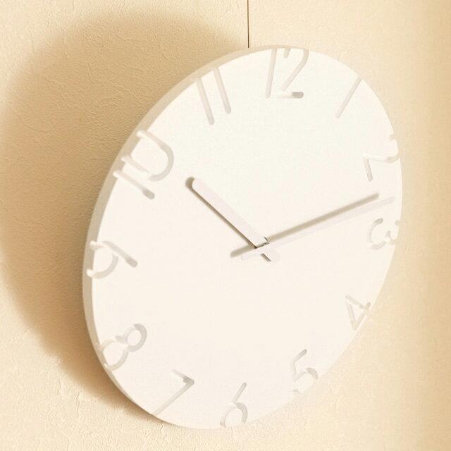 Lemnos CARVED 掛け時計/レムノス