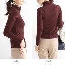 タートルネック 長袖カットソー 12色から選べる...