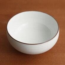 白磁千段(はくじせんだん) 汁碗