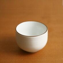 白磁千段(はくじせんだん) 煎茶