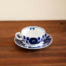 白山陶器ブルームティーカップ&ソーサー