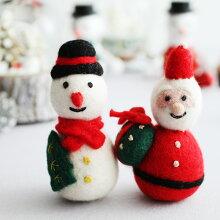 MOCOCO クリスマス フェルトマスコット