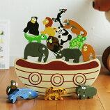 eginAgain アニマルプレイセット&バランスボート