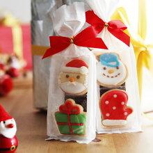 クリスマス アイシングクッキー 2個入り