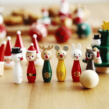 クリスマス 木製 ミニゲーム