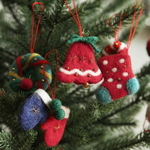MOCOO クリスマス フェルトオーナメント・モチーフ/モココ