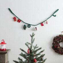 MOCOCO クリスマス フェルトガーランド/モココ