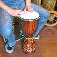 【送料無料】アジアの楽器ジャンベ[太鼓]H.50cm木彫り【アジアン雑貨 バリ雑貨 タイ雑貨】