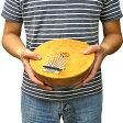 ココナッツのカリンバ 木彫りの トカゲ模様 特大 直径約20cm【アジアン雑貨 バリ雑貨 タイ雑貨】10P26Mar16
