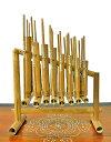 アンクルン AngkLung (M) 竹製 打楽器 [横幅38cm] 【アジアン雑貨 バリ 雑貨 タイ雑貨】10P03Dec16