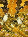 バリアート絵画 S『森の小鳥達』 おしゃれな アート インテリア 絵画 アジアン 雑貨 バリ 雑貨 タイ 雑貨 アジアン インテリア