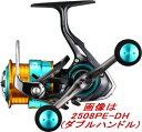 【送料無料4】ダイワ '17 エメラルダスMX 2508PE-H(シングルハンドルモデル)