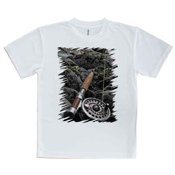 おもしろTシャツフライフィッシングを始める釣り魚ルアーTシャツメンズ半袖ロゴ文字春夏秋インナー安い面
