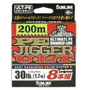 サンライン ソルティメイト PEジガーULT 8本組 300m 1.5号 25lb【ジギング】【PEライン】