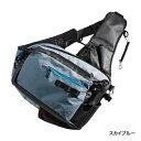 シマノ(shimano) BS-224P スカイブルー XEFO Light Salt Sling Shoulder Bag(ライトソルト スリングショルダーバッグ)