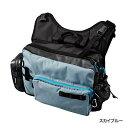 シマノ(shimano) BS-222P スカイブルー XEFO・Egiing Shoulder Bag(エギング ショルダーバッグ)