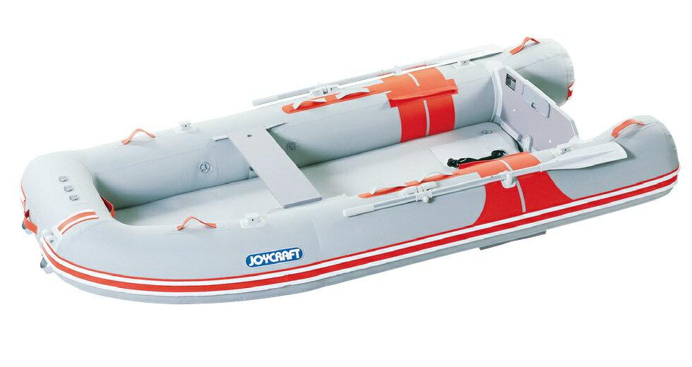 ジョイクラフト 船外機付きゴムボートセット オレンジペコ323ワイドSSセット 5人乗り ホンダ2馬力セット