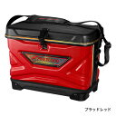 シマノ (Shimano) BA-102P 36L ブラッドレッド TOUGH WASH COOL BAG LIMITED PRO