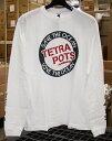 テトラポッツ サークル ロングスリーブT ホワイト Lサイズ tetrapots Tシャツ white ユニセックス
