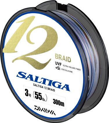 ダイワ(Daiwa) ソルティガ 12ブレイド 300m 130lb 10号※ 画像は各サイズ共通です。 その強さ、快適さ、手放せなくなる。すべてが向上したエクストリームライン。オフショアゲームが激変する。
