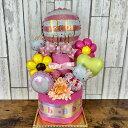 ショッピングパンパース ハローキティおむつケーキ2段 パンパース おむつ お祝い ご出産 パンパース