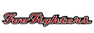 ☆☆☆FOO FIGHTERS LOGO Patch フーファイターズ オフィシャル バンドワッペン【メール便対応可】【あす楽対応】