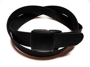 ミリナイロン・プラスティックバックル バックル ブラック フルサイズ