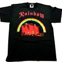 /RAINBOW レインボーon stage オフィシャル バンドTシャツ / 2枚までメール便対応可 / あす楽対応