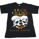 / ARCH ENEMY アーチエネミーBLACK EARTH オフィシャル バンドTシャツ / 2枚までメール便対応可 / あす楽対応