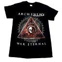 /ARCH ENEMY アーチエネミーWAR ETERNAL オフィシャル バンドTシャツ【正規ライセンス品】【2枚までメール便対応可】