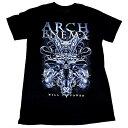 / ARCH ENEMY アーチエネミー Skull Bat T-Shirt オフィシャル バンドTシャツ / 2枚までメール便対応可 / あす楽対応