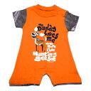 ☆☆☆【2枚までメール便対応可】BUCKWEAR-MORE THAN HUNTING SEASON INFANT BOYS ROMPER ORANGEFEATURING REALTREE XTRA オフィシャル ロンパース【あす楽対応】