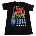 /BLONDIE ブロンディーMADE IN NYC MENS LIGHTWEIGHT オフィシャル バンドTシャツ / 2枚までメール便対応可 / あす楽対応