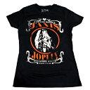 /JANIS JOPLIN ジャニス・ジョプリンLIVE JUNIORS TEE babydoll オフィシャル レディースバンドTシャツ / 2枚までメール便対応可 / あす楽対応