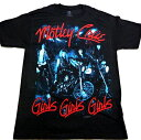 MOTLEY CRUEモトリークルーGIRLS!GIRLS!GIRLS!オフィシャルバンドTシャツ【あす楽対応】