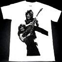 【2枚までメール便対応可】OZZY OSBOURNE オジーオズボーンRANDY RHOADS TRIBUTE オフィシャル バンドTシャツ【ホワイト】