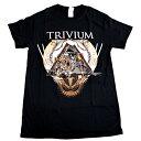 /TRIVIUM トリヴィアムTRIANGULAR オフィシャル バンドTシャツ / 2枚までメール便対応可