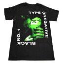 /Type O Negative タイプ・オー・ネガティヴBlack No. 1 オフィシャル バンドTシャツ / 2枚までメール便対応可 / あす楽対応