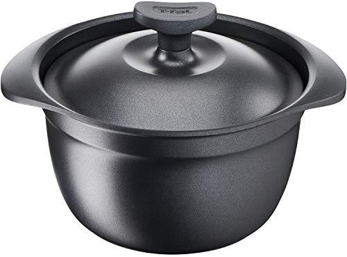 ティファール(T-fal) ご飯鍋 ブラック 3合炊き キャストライン アロマ ライスポット